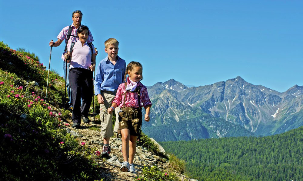 Urlaub in Vals im Sommer: Baden, wandern und radeln